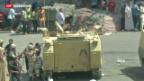 Video «Verhaftungen nach der Räumung der Moschee» abspielen