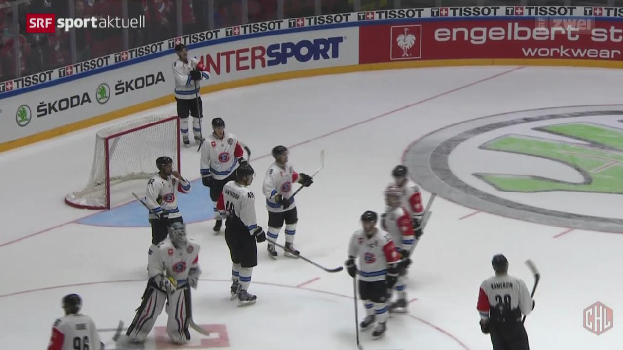 Eishockey: CHL, IFK Helsinki - Freiburg