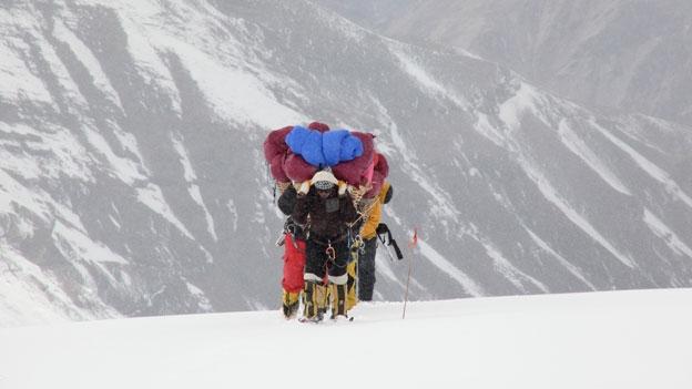 Ohne Sherpas geht nichts