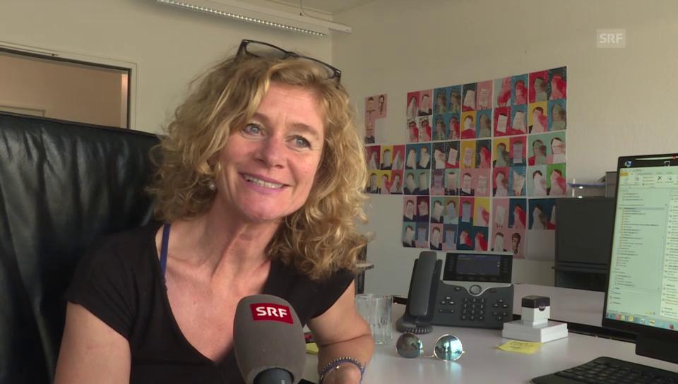 Schauspielerin Hanna Scheuring (51)