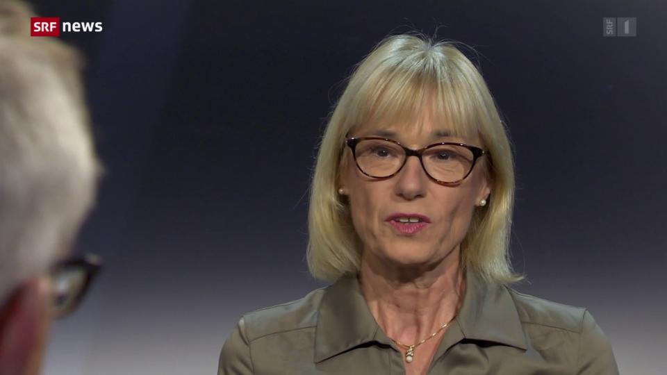 Ruth Humbel (Mitte/AG): «Das ist speziell während der grössten Gesundheitskrise»