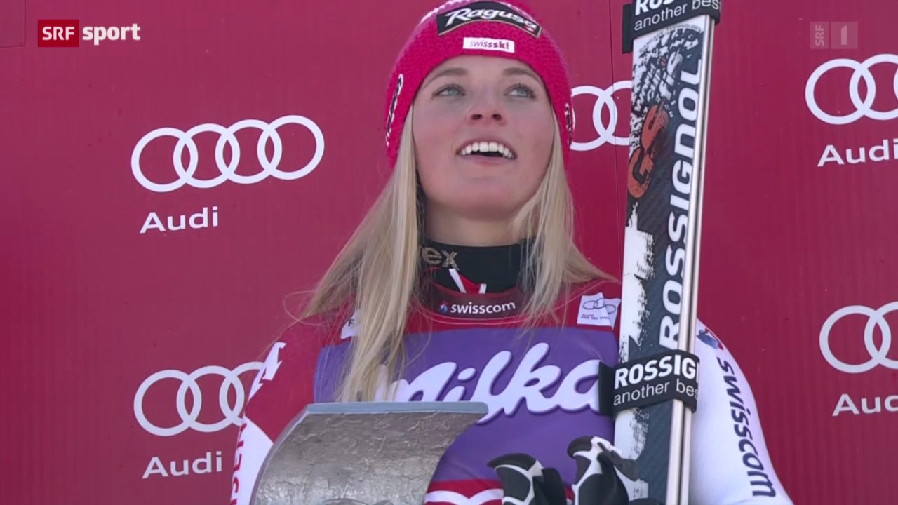 Ski: Lara Gut siegt in Sölden