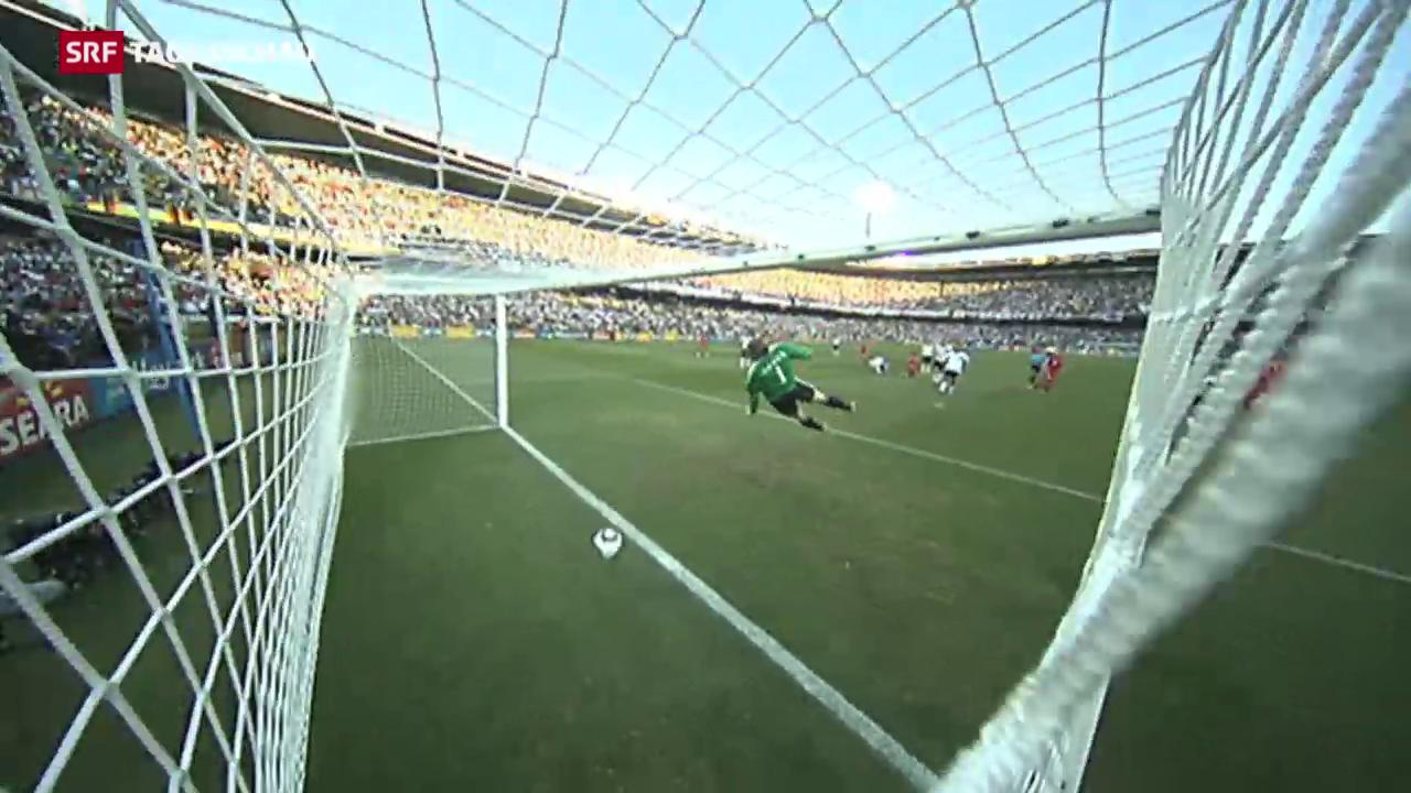 Der Fussball erhält den Videobeweis