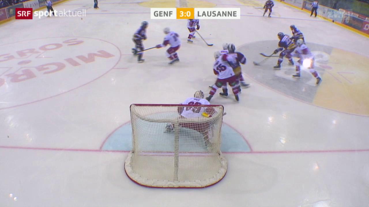 Eishockey: Genf - Lausanne