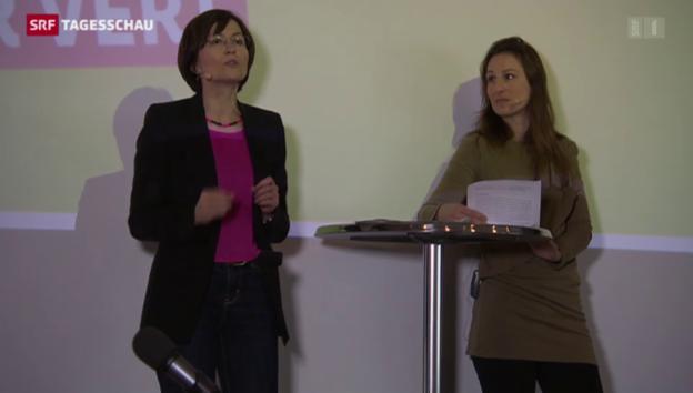Video «Grüne starten den Wahlkampf 2015» abspielen