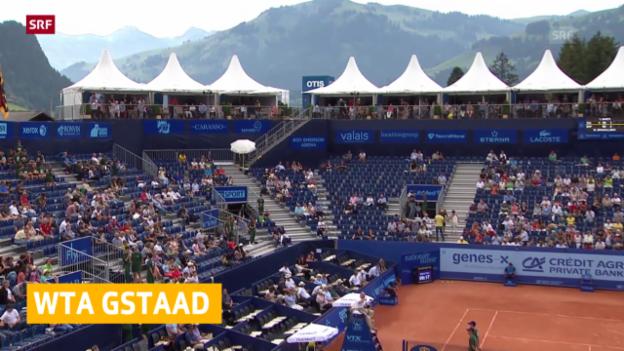 Video «WTA-Turnier in Gstaad bestätigt» abspielen