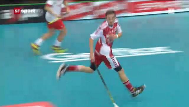 Unihockey-WM: Zusammenfassung Schweiz - Norwegen