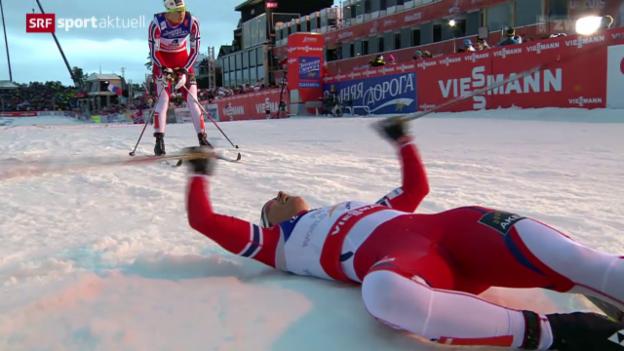 Video «Langlauf: WM in Falun, Sprint Frauen» abspielen
