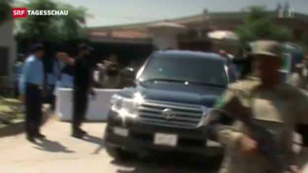 Video «Musharraf entzieht sich Festnahme» abspielen