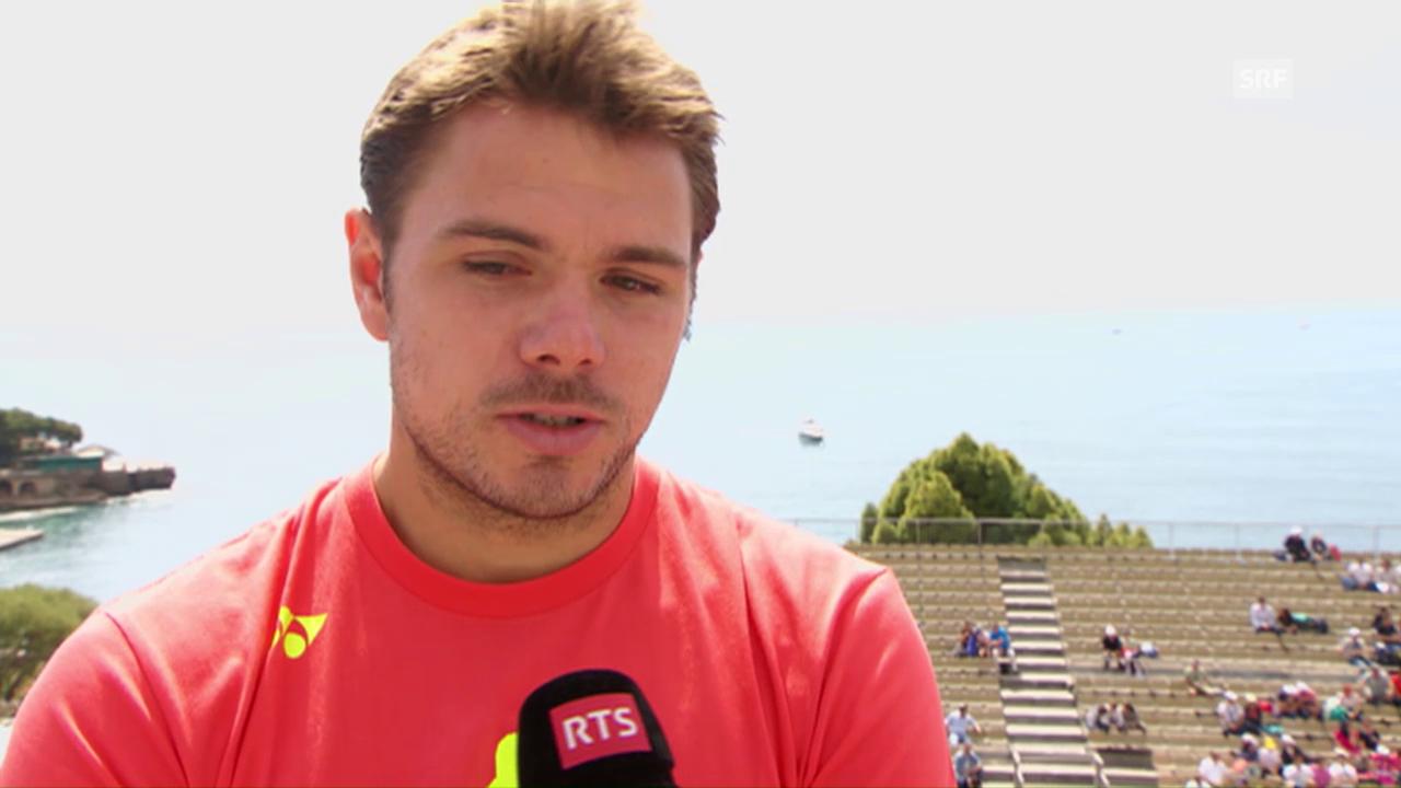 Stan Wawrinka vor dem Turnier in Monte Carlo