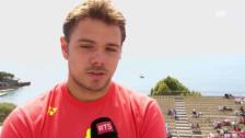 Video «Stan Wawrinka vor dem Turnier in Monte Carlo» abspielen