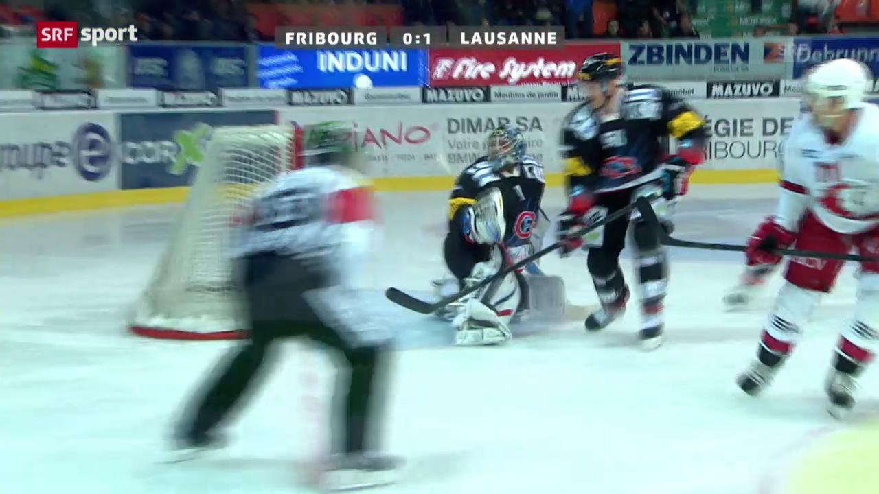 NLA: Fribourg - Lausanne