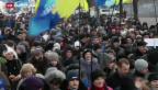 Video «Ukraine: Verhandlungen gescheitert – Proteste dauern an» abspielen