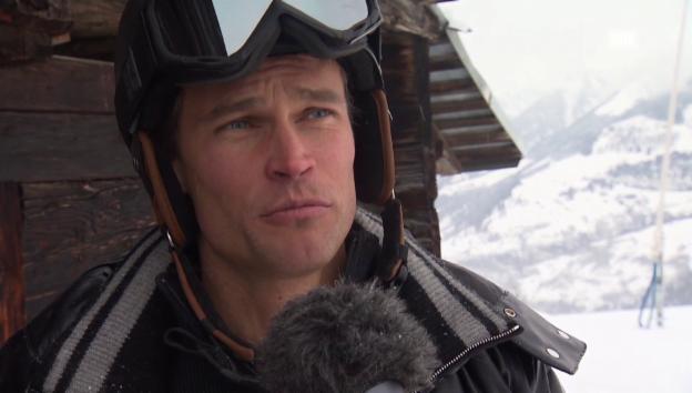 Video «Skitag mit Renzo Blumenthal und seiner Familie» abspielen