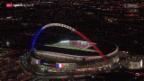 Video «Fussball: Testspiel England - Frankreich» abspielen