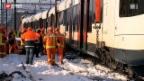 Video «Grosses Glück bei einer Zugkollision in Lenzburg» abspielen