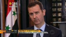 Video «Assad: «Sie müssen mit allem rechnen»» abspielen