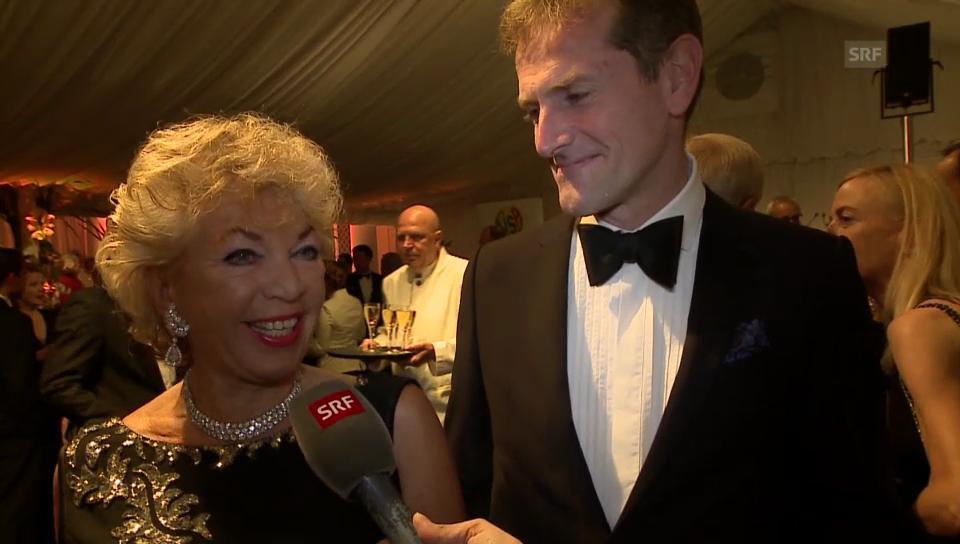 Frisch verheiratet: Ljuba Manz und Marco Conte