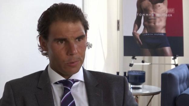 Video «Tennis: Nadal vor US Open» abspielen