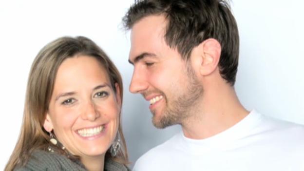 Video «Manu Burkart zum zweiten Mal Vater» abspielen