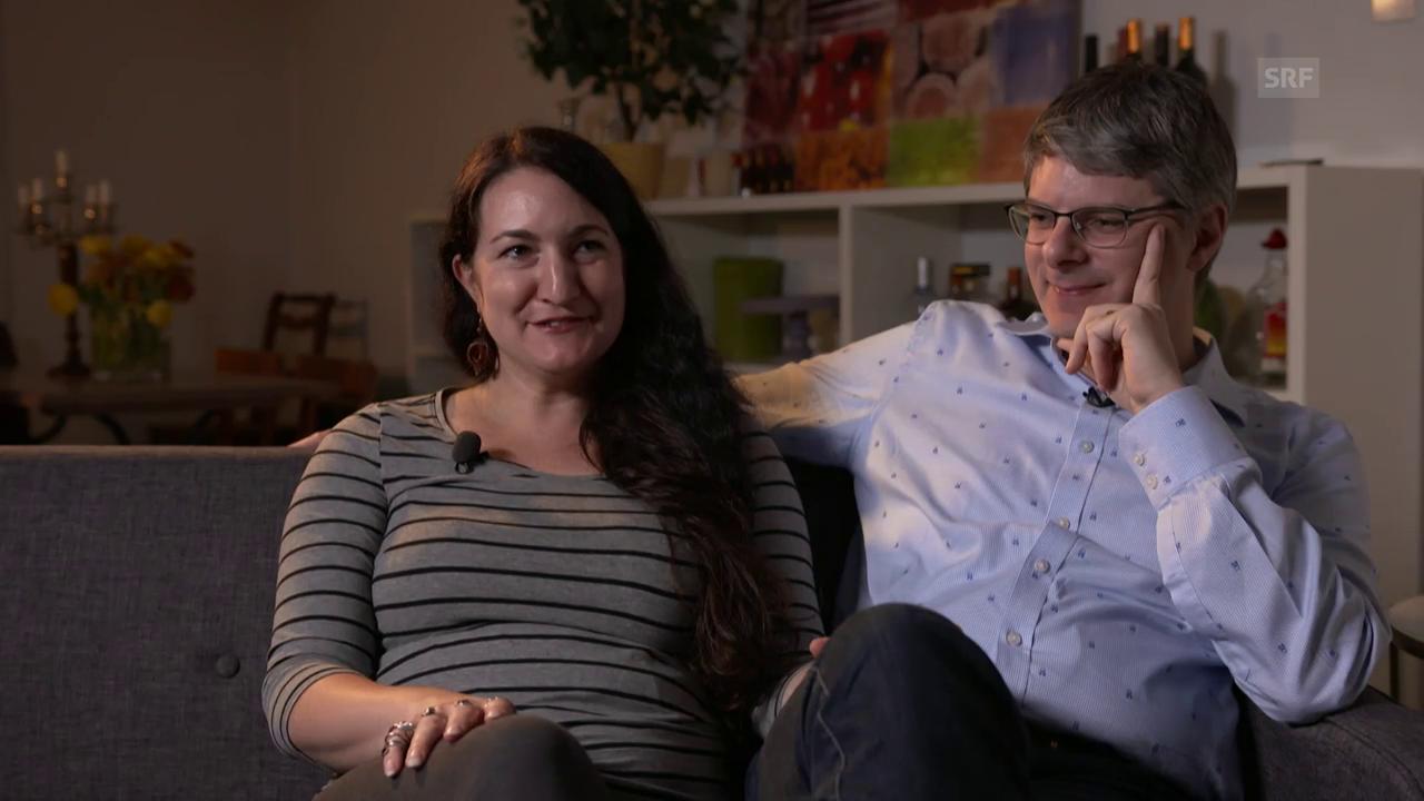 Brianna und Thomas: «Pünktlichkeit und Kompromissbereitschaft sind typisch für die Schweiz.»