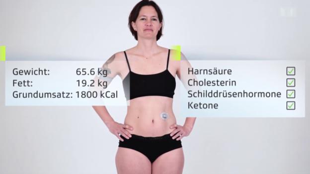 Video «Das «Puls»-Versuchskaninchen fastet – Start» abspielen