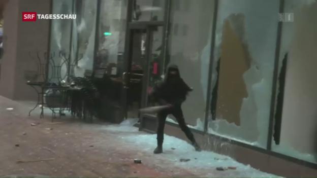Video «Demonstrationen in Washington» abspielen