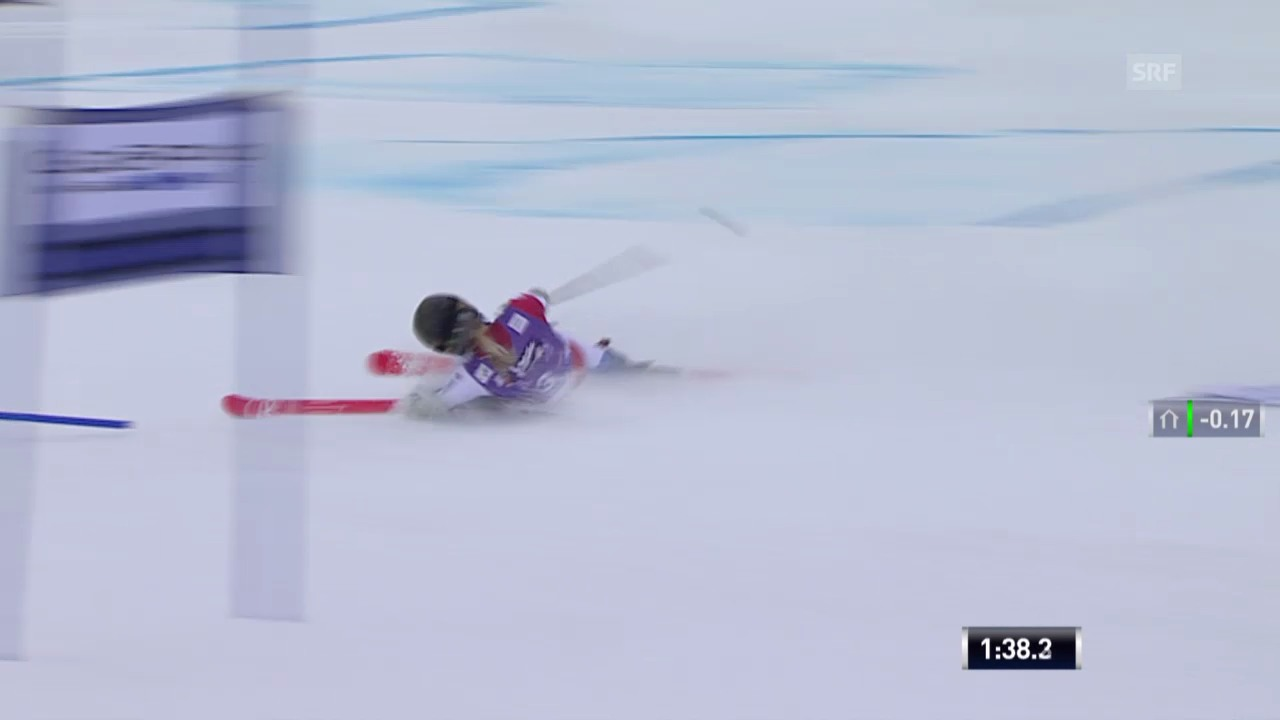 Ski: Riesenslalom Sölden, Lara Gut out