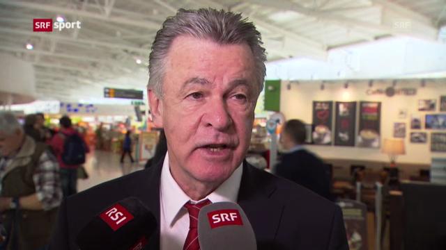 Fussball: Interview mit Ottmar Hitzfeld