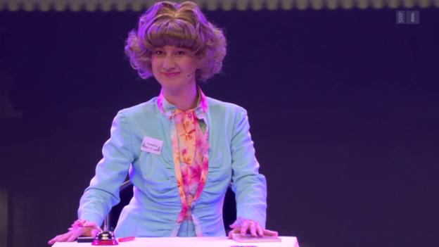 Video ««Das Zelt – Comedy Club»: Hochkarätige Comedians auf einer Bühne» abspielen