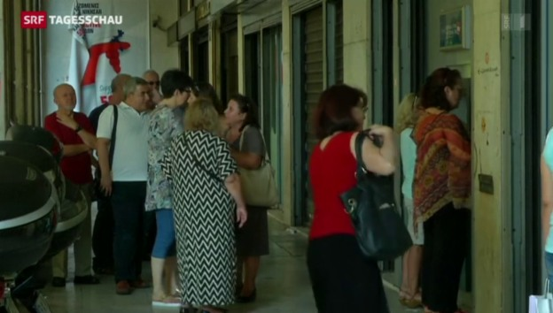 Video «Notzahlung für Griechenland» abspielen