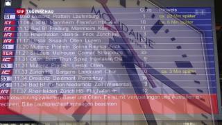 Video «Unpünktlichkeit bei der SBB» abspielen