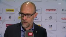 Link öffnet eine Lightbox. Video Kossmann: «Wie spielen gut, Lugano spielt aber auch gut» abspielen