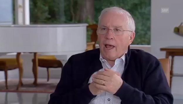 Video «Blocher: Wir sind dann im Schützengraben und machen uns die Finger schmutzig» abspielen