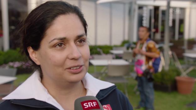Video «Formel 1: GP Australien, Interview mit Monisha Kaltenborn» abspielen