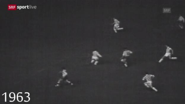 Video «Fussball: Der FCB bestreitet sein 200. Europacup-Spiel» abspielen