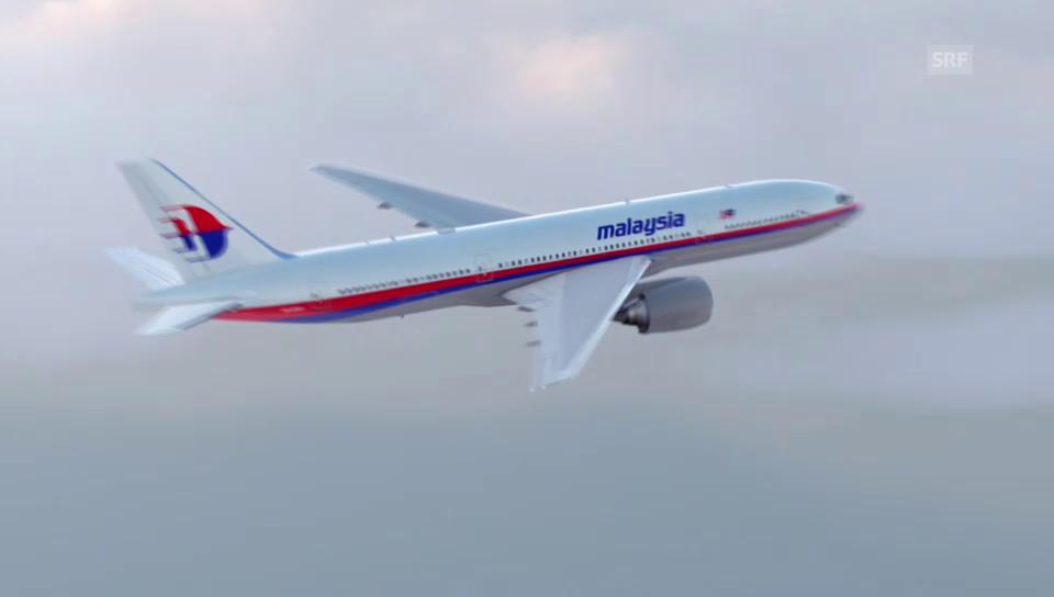Der Flug von MH17