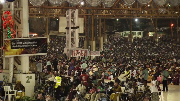 Video «Der Holy Ghost Congress in Lagos» abspielen