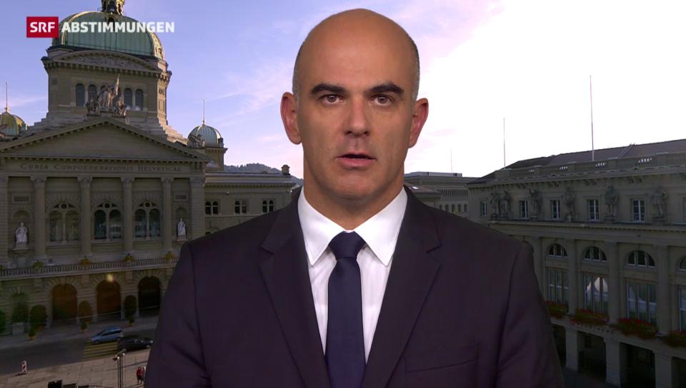 Alain Berset: «Volk unterstützt Strategie des Bundesrats»