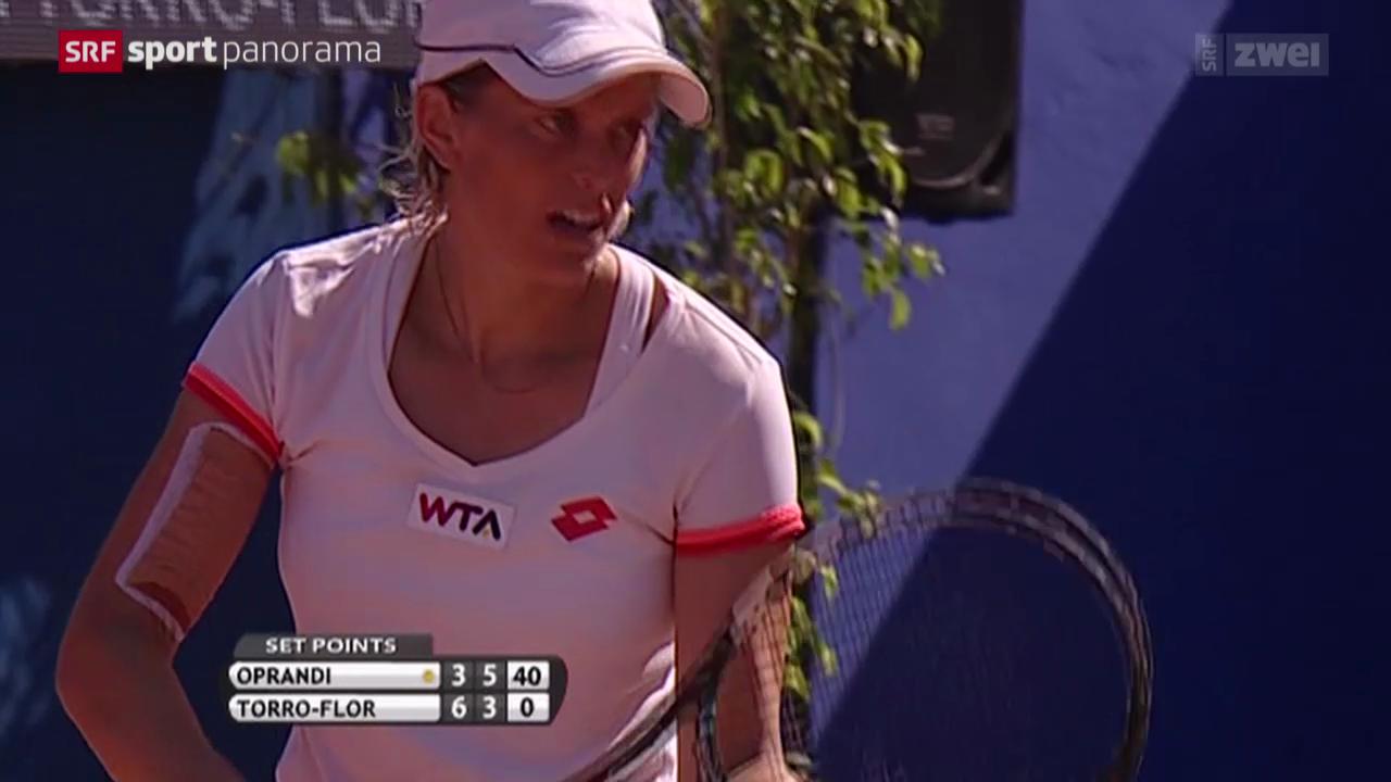Tennis: Marrakesch-Final Oprandi - Torro Flor