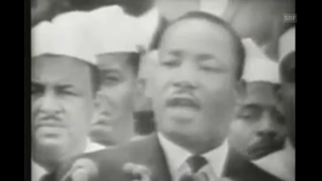 Martin Luther King am 28. August 1963: «I Have a Dream»