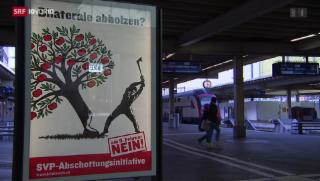 Video «Verkehrte Welt bei Masseneinwanderungsdebatte» abspielen