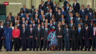 Video «EU-Afrika-Gipfel» abspielen