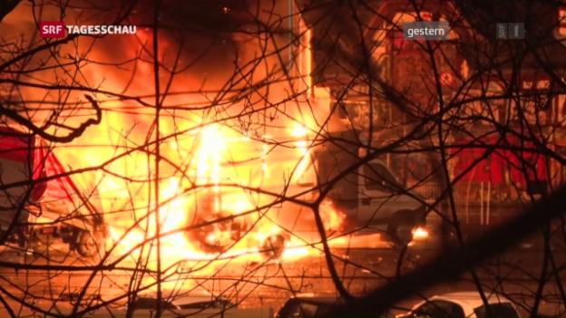 Video «Elf Verletzte in Bern» abspielen