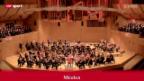 Video «Fussball: Münchner Philharmonie vor dem CL-Final» abspielen