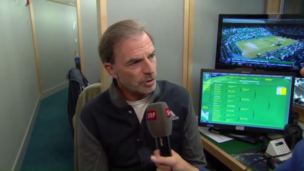 Video «Günthardt analysiert die Ausgangslage vor dem Halbfinal» abspielen