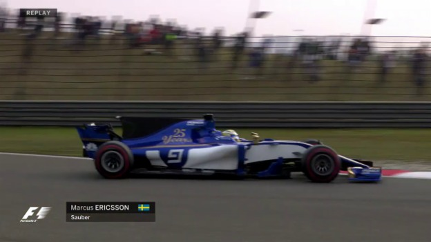 Video «Das Qualifying zum GP China» abspielen