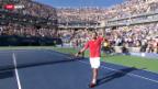 Video «Tennis: Wawrinka schlägt Murray» abspielen