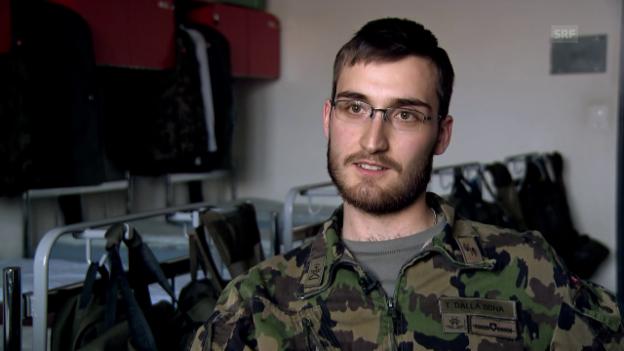 Video «Besuch bei Tristano im Militär» abspielen