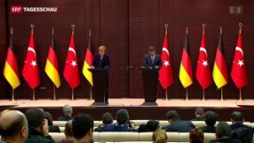 Video «Merkel zu Besuch in der Türkei» abspielen